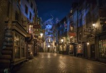 Diagon Alley Universal Studios AOA