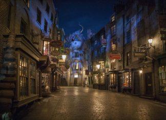 Diagon Alley Universal Studios AOA