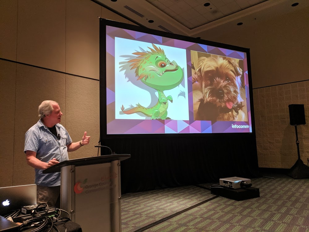 rick morris of falcons creative on audio in theme parks