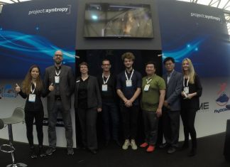 Project Syntropy Team Picture at IAAPA Asia Expo Shanghai 2019