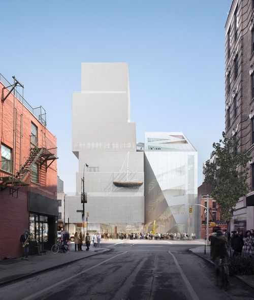 oma new museum new york