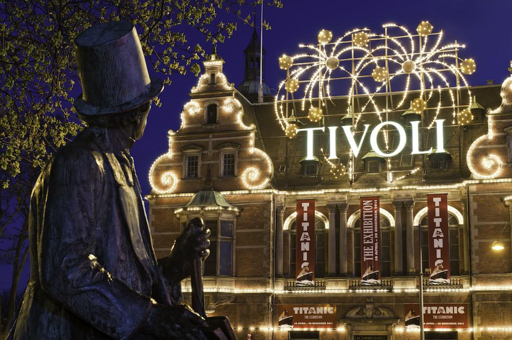 Tivoli Gardens Copenhagen is one of the European theme parks closed due to coronavirus