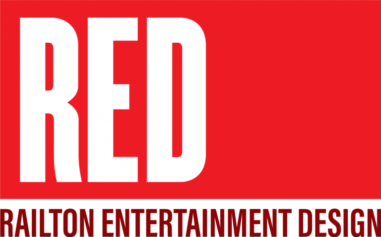 Railton Entertainment Design (RED) Logo