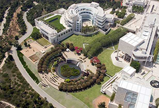 Entertainment and Culture Advisors The Getty Center Central Garden overview next generation attractions
