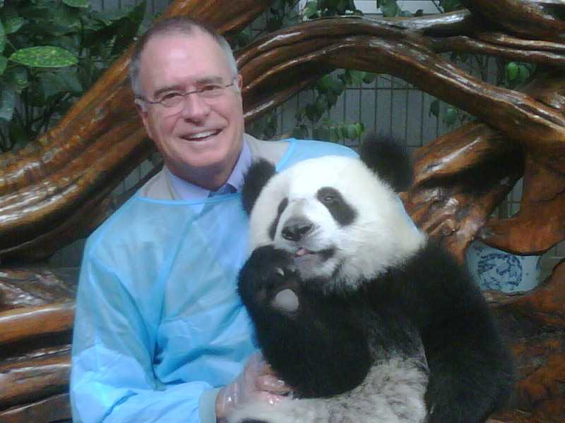 Ray Braun of ECA with panda next generation attractions