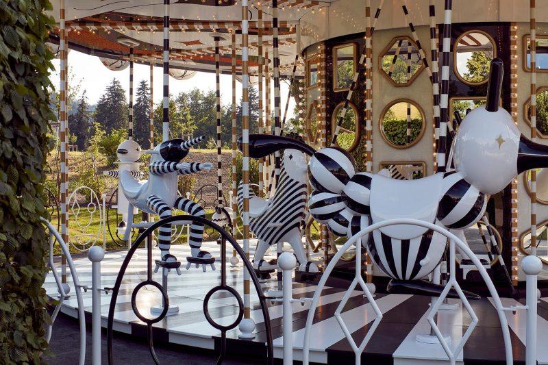 swarovski crystal carousel