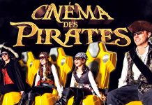 Triotech cinema des pirates
