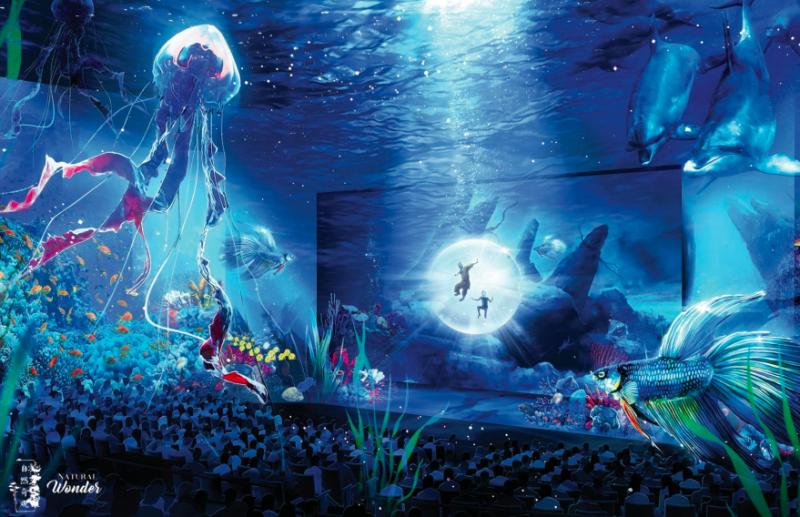 wynn macau crystal pavilion immersive theatre