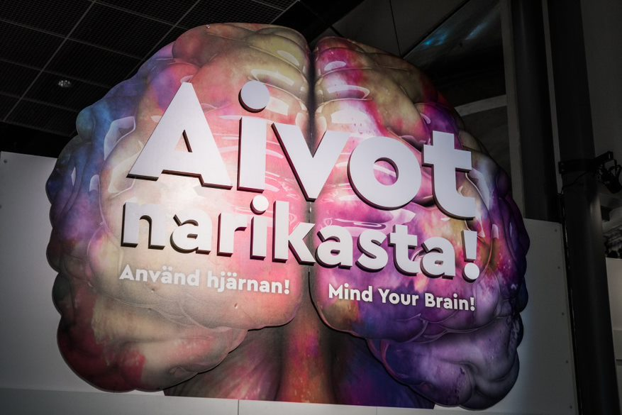 Heureka brain exhibition Lapsett blooloop
