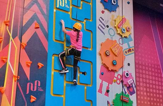 iPlayCO Active Climb Xtreme Zone Abu Dhabi Mall
