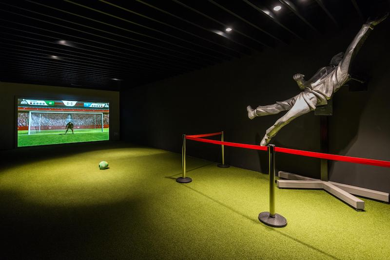 christie projectors at athletic bilbao museum
