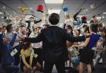 The Wolf of Wall Street is getting an immersive production in London