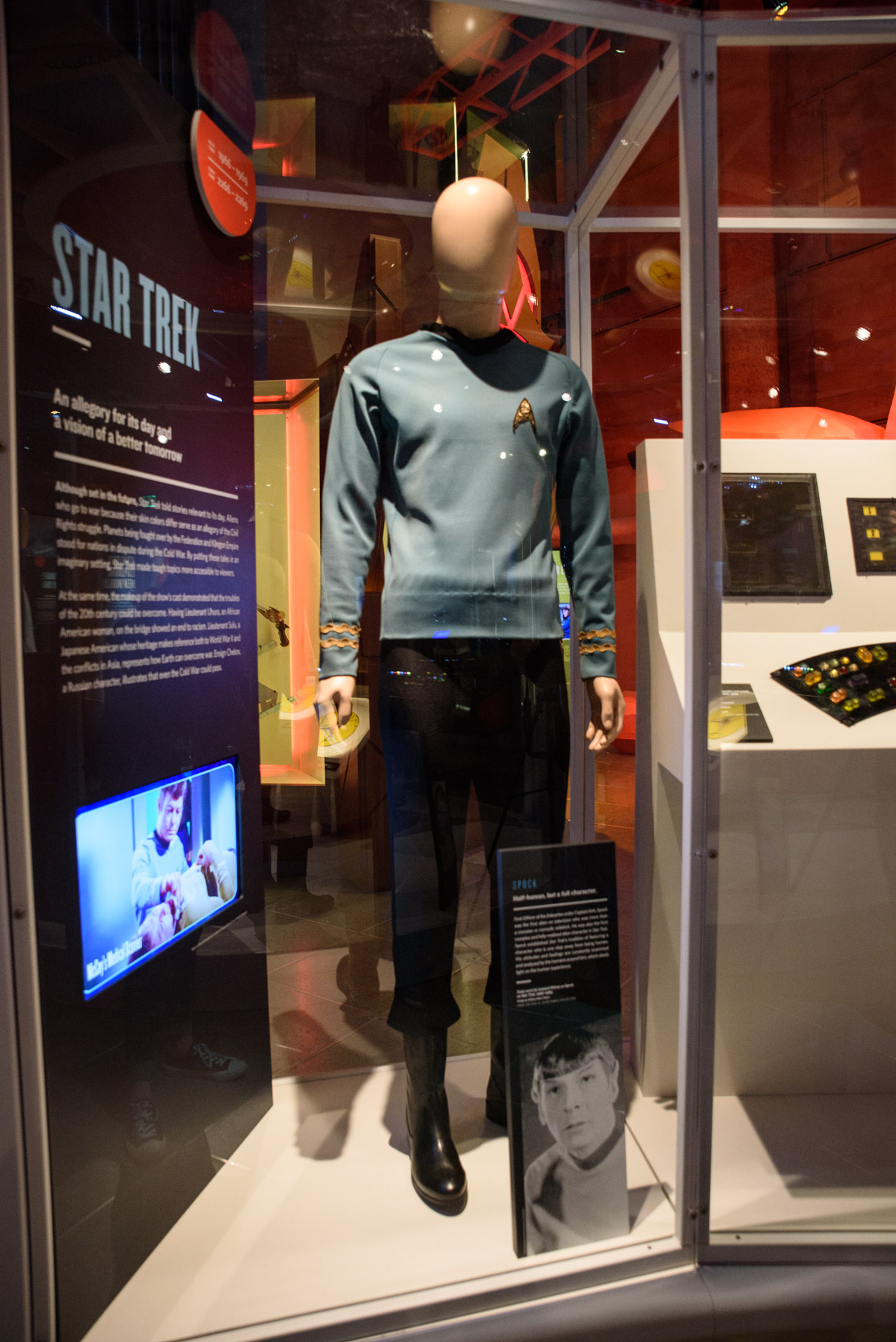 star trek exhibit edg