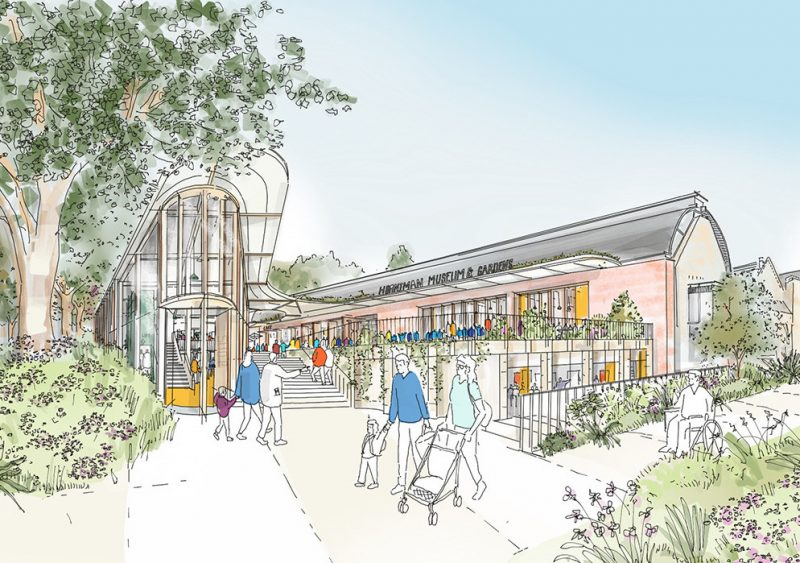 horniman museum and gardens masterplan