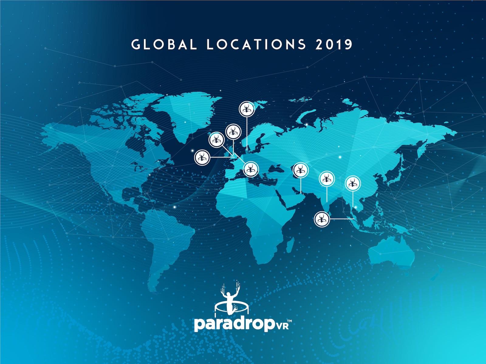 Frontgrid ParadropVR location Map