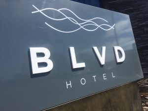 BLVD-hotel-Blackpool-Pleasure-Beach-signage