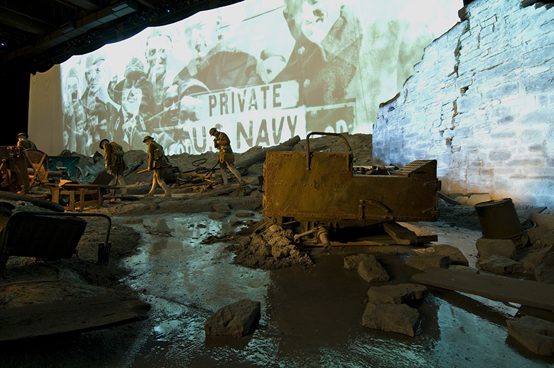 WW1 museum inspired spaces blooloop
