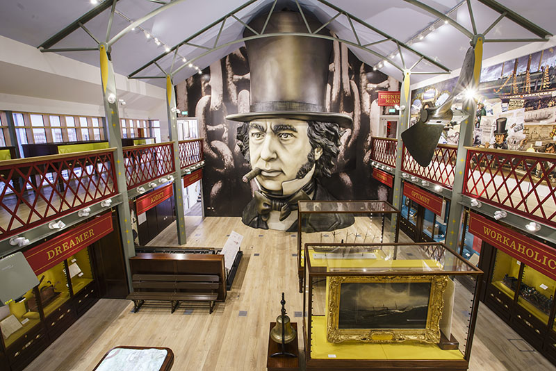 Being Brunel, museum inspired space electrosonic bloloop