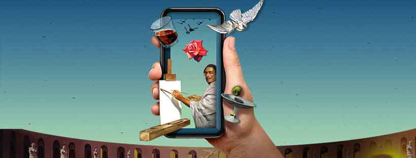 Dali Museum interactive AR app guru
