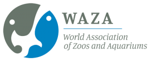 WAZA World Association of Zoos and Aquariums Logo virtual annual conference