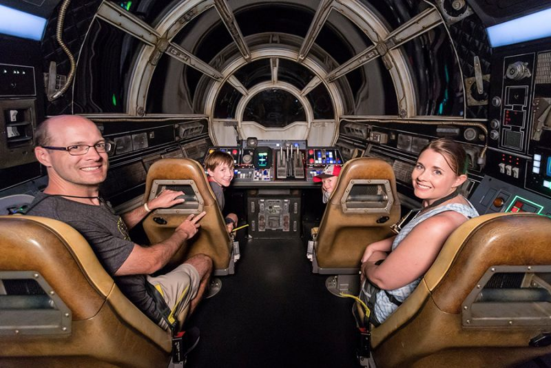 star wars galaxy's edge millennium falcon smugglers run millionth rider