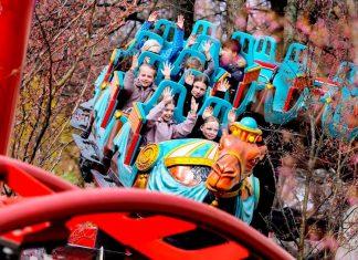 Tivoli Kamelen coaster family rides