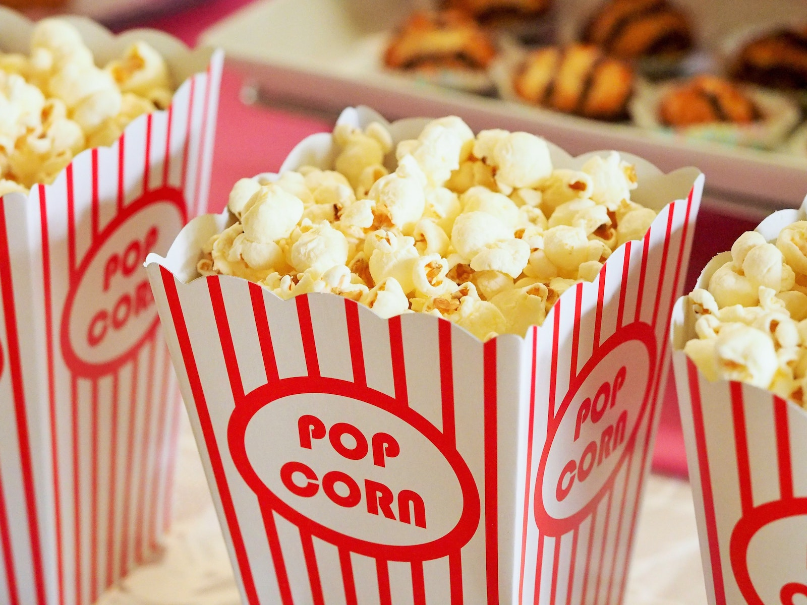 Popcorn cinema stock pic Barco