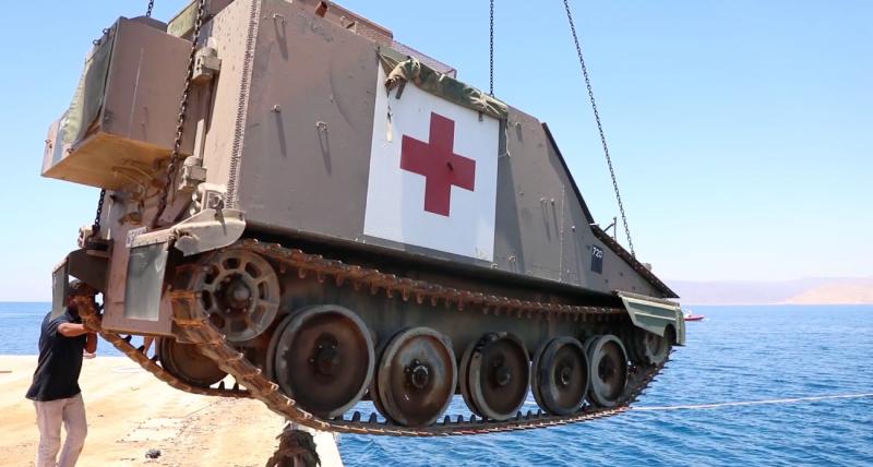 underwater military museum dive site off the coast of Aqaba
