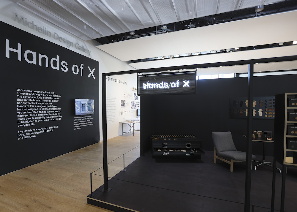 Hands of X exhibit V&A Dundee blooloop