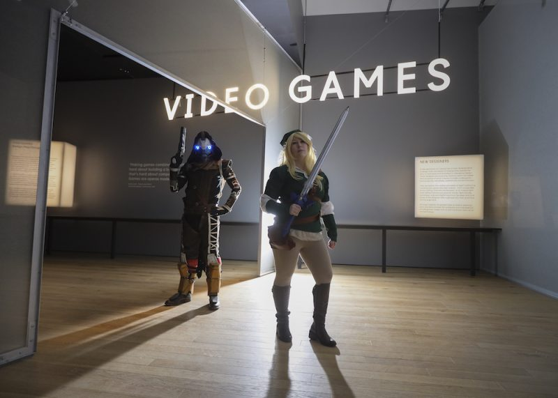 Video games exhibtion at V&A Dundee, blooloop