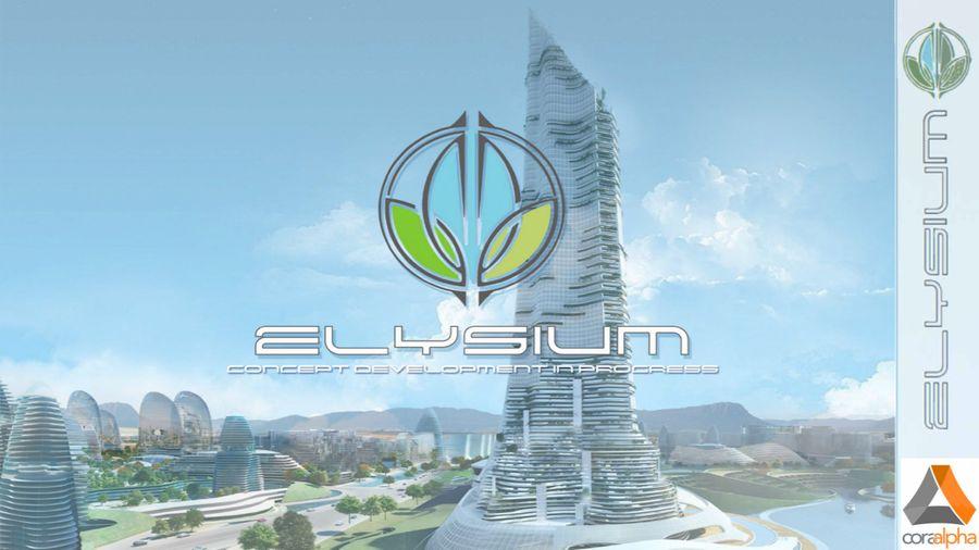 Elysium City Concept