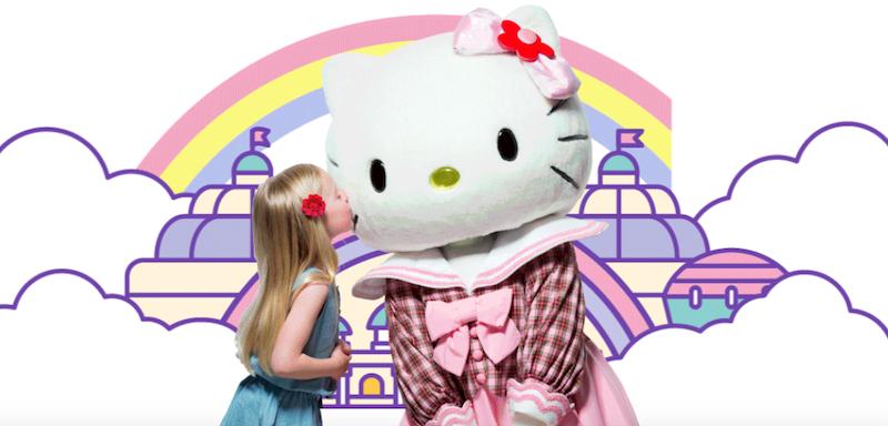 sanrio puroland hello kitty theme park