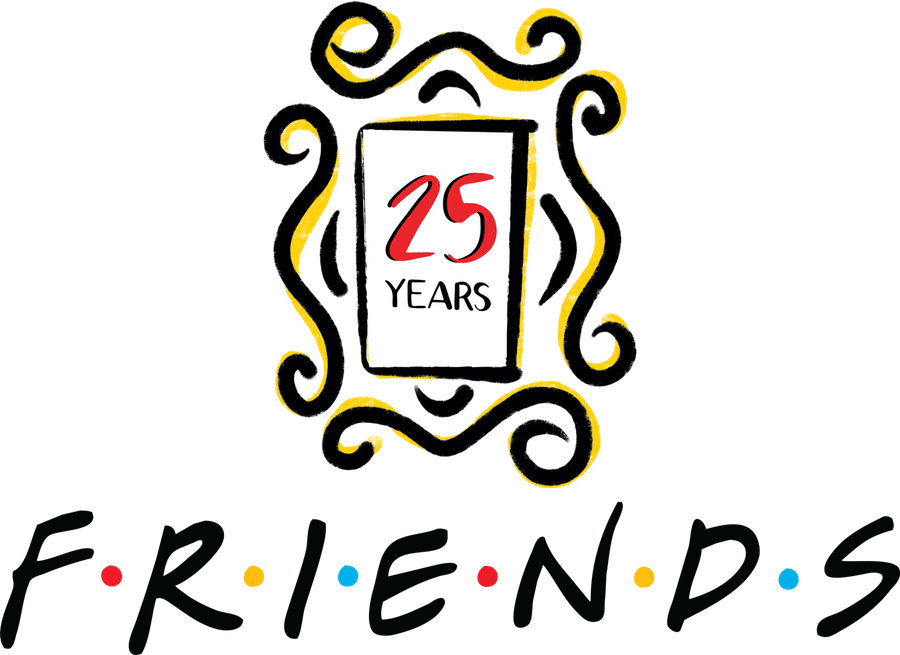 Friends 25th Anniversary Logo