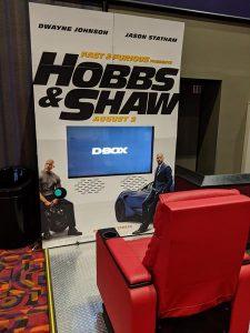 D-Box Fast & Furious Hobbs & Shaw