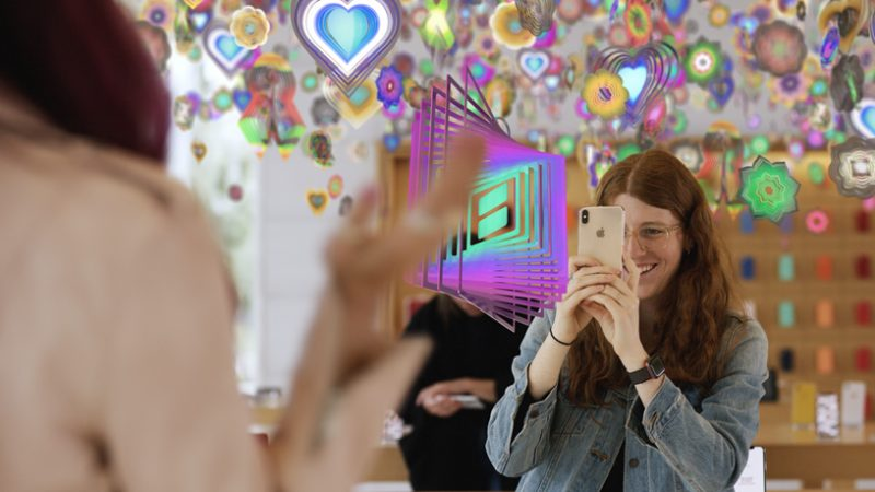 apple augmented reality artworks