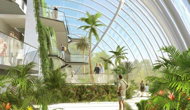 edinburgh biomes royal botanic garden
