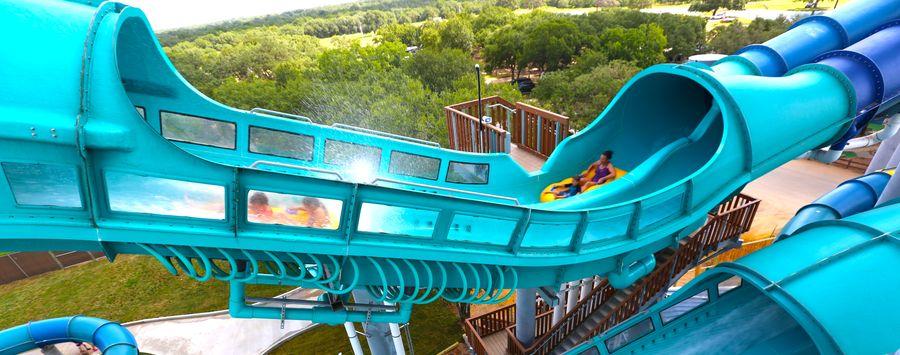 ProSlide Dueling Water Coaster