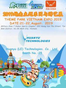 huanyu theme park expo Vietnam 2019