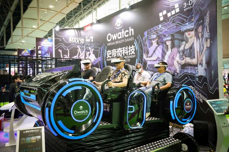 AAA 2019 Attendees on Owatch VR