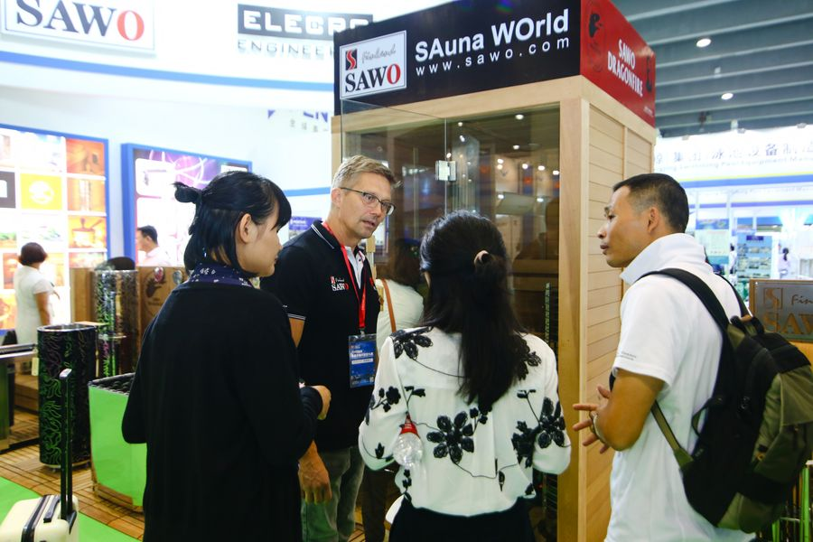 AAA 2019 Sauna exhibit
