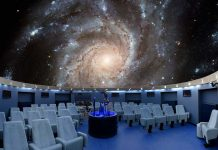Endurescreens announces completion of first planetarium project