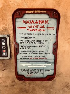 Secret Messages Oga's Cantina Star Wars: Galaxy's Edge