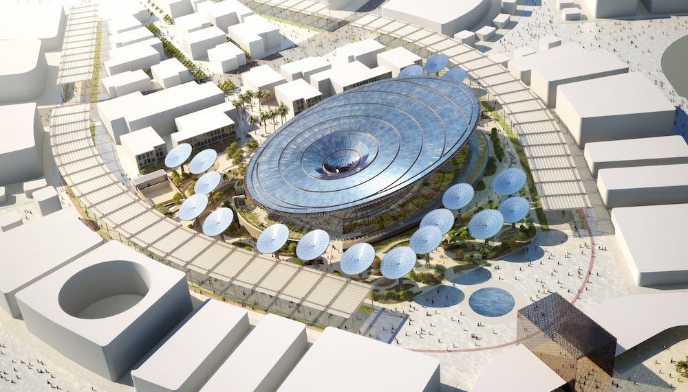 Terra, the Sustainability Pavilion at Expo 2020 Dubai