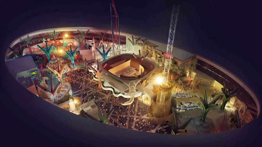 nFusion Companies of Nassal Doha Oasis Theme Park