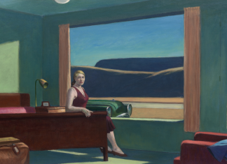 western motel edward hopper
