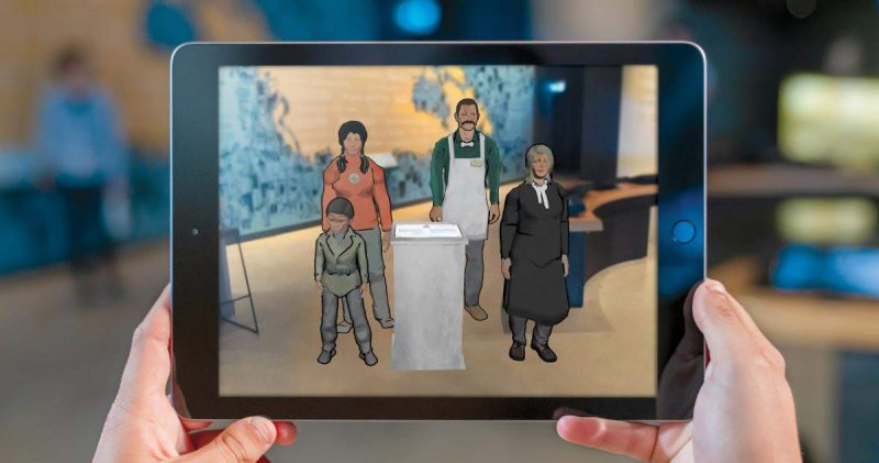 canadian museum of human rights augmented reality app