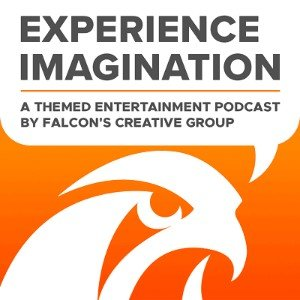Falcon's Creative Group Experience Imagination Podcast Logo