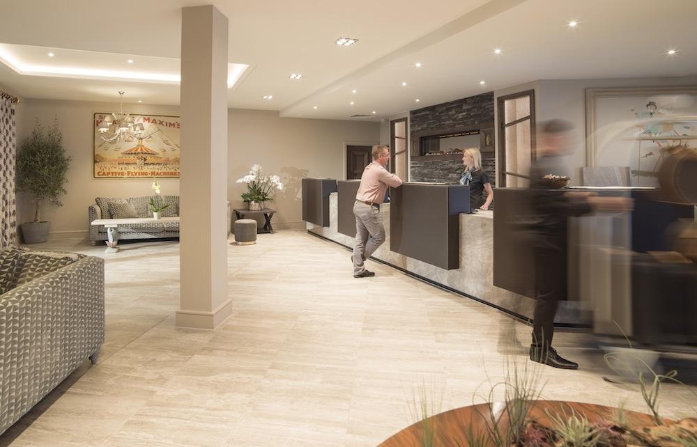 BLVD Hotel Reception