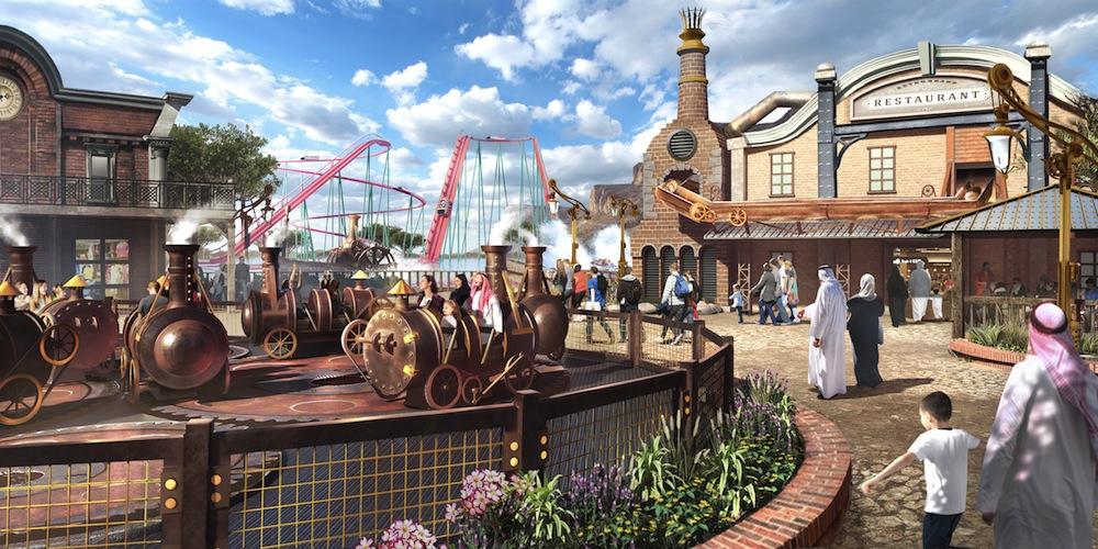 Six Flags Qiddiya Steamtown