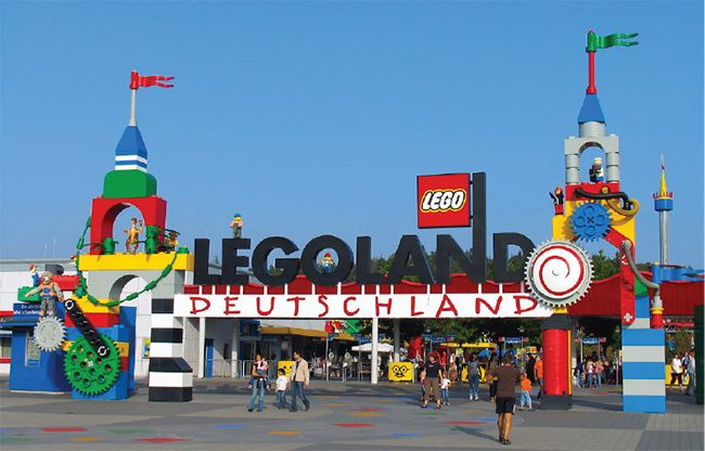 nFusion Companies of Nassal Legoland Deutschland Entrance